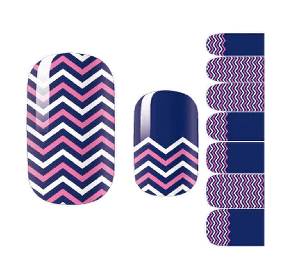 [Wave] Set of 5 Cute Nail Stickers Nail Decorations DIY Nail Art