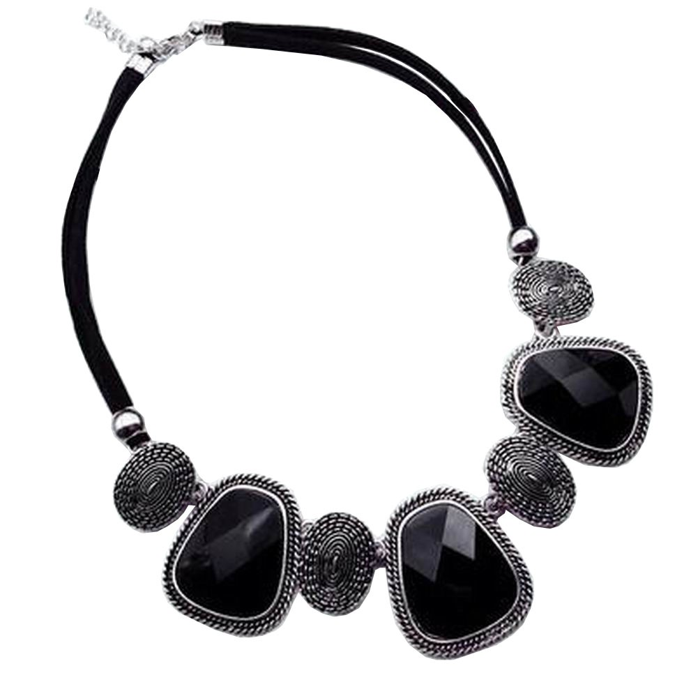 [Silver] Stylish Costume Necklace Sweater Necklace Costume Jewelry