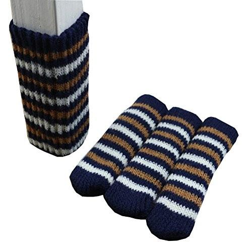 Table Feet Covers Chair Leg Socks 24pcs