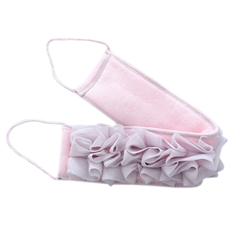 Loofah Sponge Scrubber Bath Sponge Strong Wash Towel Bath Glove Hand Towels O