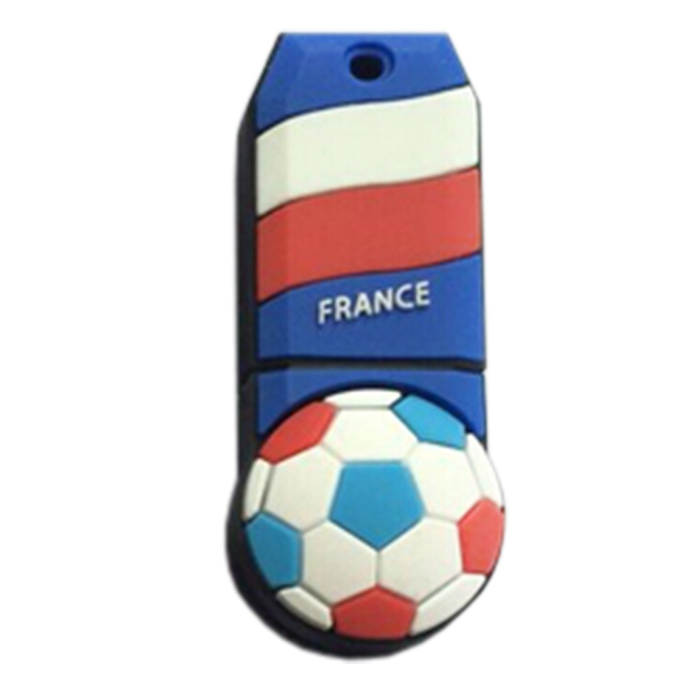 Lovely The World Cup USB 2.0 Flash Drive Memory Stick Memory Disk 32GB France