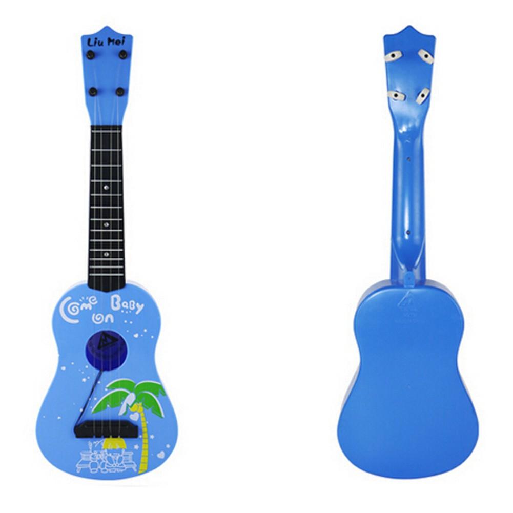 Kid's Fancy Dynamic Music Guitar Toy Sky Blue