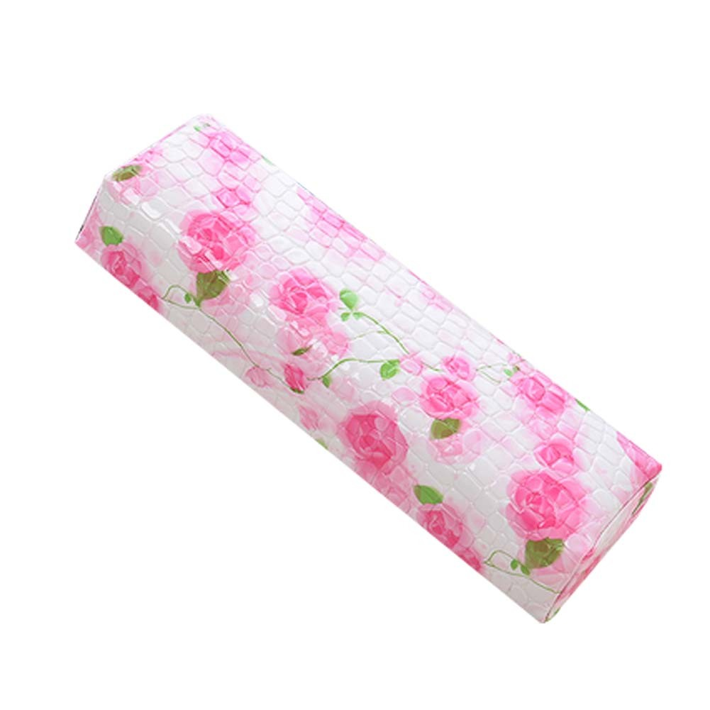 Nail Art Pad Soft Hand Cushion PU Leather Armrest Pillow Salon Hand Holder [G]