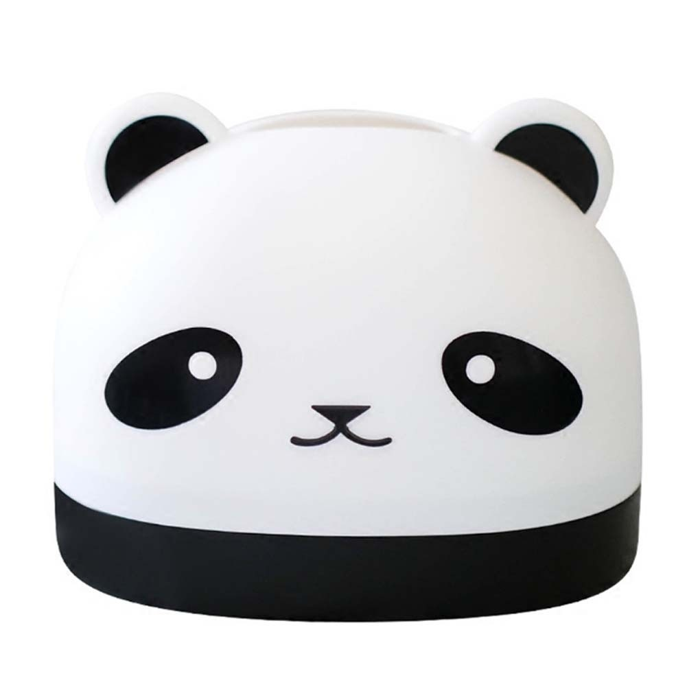 Lovely Panda Cartoon Tissue Paper Holder Desktop Napkin Tissue Storage Box