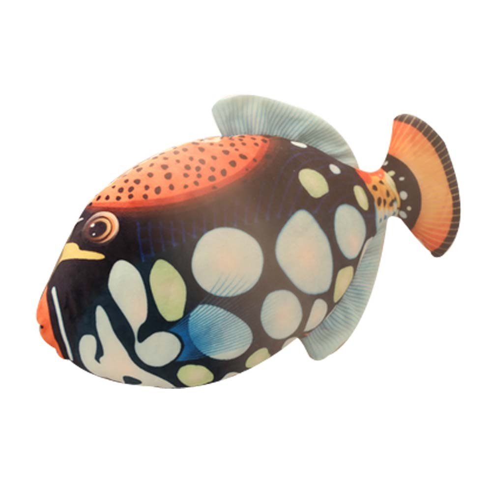 Sleeping Pillow Plush Toy Simulation Cushion Pillow Birthday Gift [Puffer Fish]
