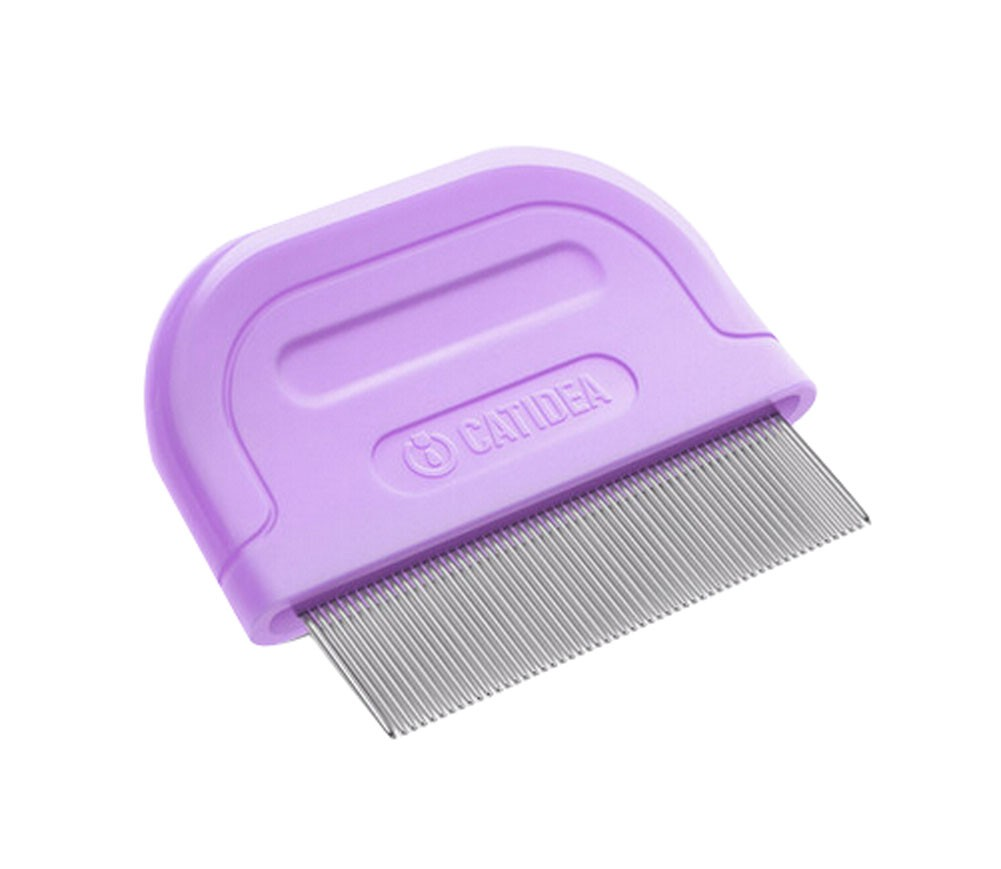 Mini Fashion Grooming Comb for Dogs Cats Pet Flea Combs PURPLE