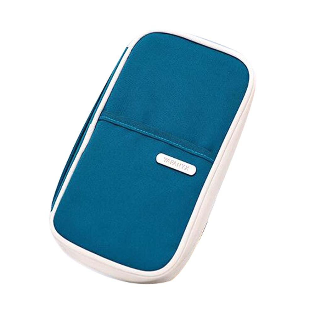 Waterproof Passport Holder Portable Bag Fashion Travel Pouch Case Cover,ORANGE