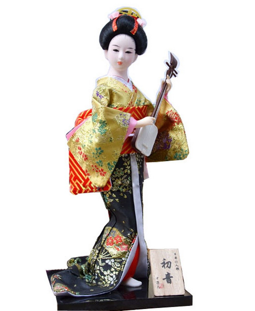 Japanese Geisha Doll Furnishing Articles, Random Style [B]
