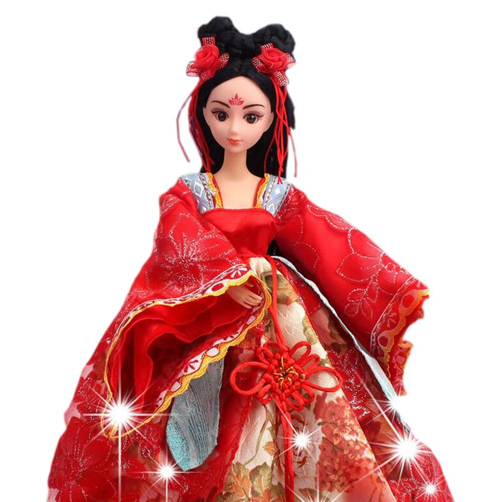 Wu-hou Doll Dress Doll Gorgeous China Doll Ball-Jointed Doll For Girls