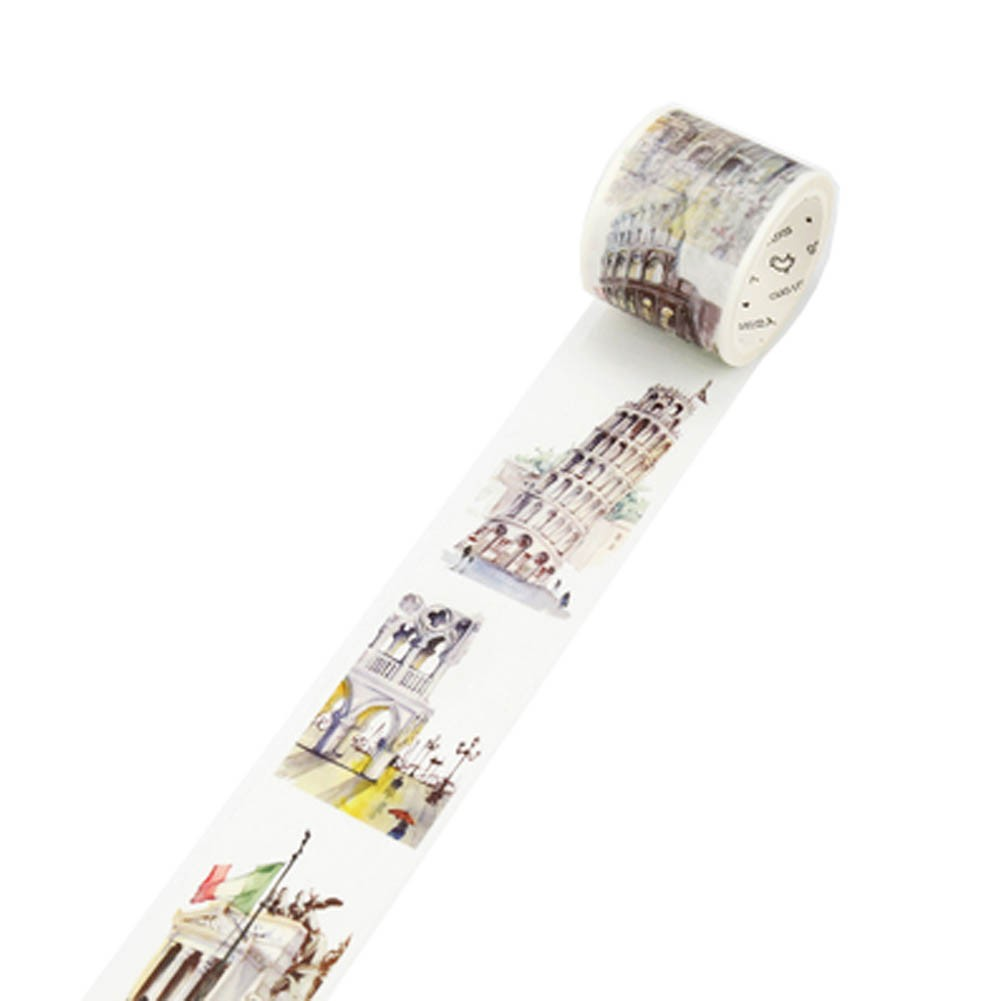 Decorative Craft Masking Tape DIY Crafts Gift Washi Tape 40mmx7m,Italy