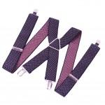 "1.4"" Wide Men's Adjustable Shoulder Strap Suspenders"