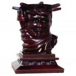 Retro Purple President Donald Trump Statue of Liberty Pencil Holder Collection