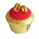 Chinese Style Fake Cupcake Artificial Cake Model Decoration And Props, Ring