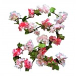 Artificial Flower Vines Fake Flowers Sakura Decoration [Cherry blossoms] A