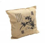 Cartoon Bamboo Charcoal Bag Car Decoration Accessories, Orchid