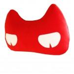 Creative Auto Supplies/Lovely Cartoon Car Seat Neck Pillow, (Cat) RED