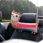 Cute Cartoon Animals Series [Lovely Alpaca] Car Headrest/Car Neck Pillow