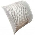 Respirant Car Decoration Lumbar Support Fashion Back Cushion Gray