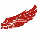 Angel Wings Personality Decal Reflective Decorative Wing Car Body Sticker