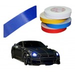 Motorcycle Car Automotive Reflective Tape Car Vehicle Reflective Decals Blue