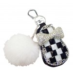 Lovely Fur Ball Car Key Case Auto Parts Car Accessories Keychain