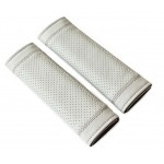 Gray Car Seat Belt Shoulder Pad Sets Lengthen Belt Sleeve Automotive Supplies