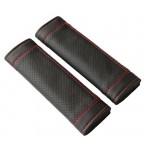 Black Car Seat Belt Shoulder Pad Sets Lengthen Belt Sleeve Automotive Supplies