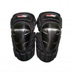 High-quality Carbon fiber Knee/Shin Guard Set for Racing Motocross Motocycle