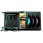 Auto Accessories DVD/CD Storage CD Visor DVD Wallet CD/DVD Holder Black