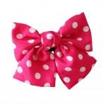 Chiffon Large Bowknot Hair Clip Handmade Hair Barrette Ladies and Girls Hair Bow