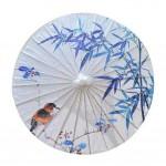 Outdoor Umbrella 33-Inch Chinese Handmade Oiled Paper Umbrella Non Rainproof