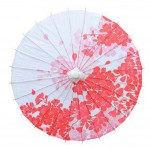 33-Inch Umbrella Wedding Decoration Chinese Oiled Paper Umbrella Non Rainproof