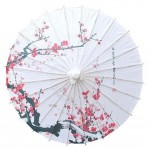 Non Rainproof 33-Inch Handmade Oiled Paper Umbrella Chinese Style Office Gifts