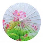 33-Inch Oiled Paper Umbrella Chinese Style Non Rainproof Handmade Office Gifts