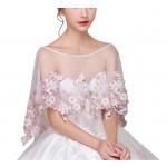 Fashion Style Women's Wedding Dresses Lace Bridal Shawls S