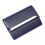 BLACK Cigarette Case Fashion Cigarette Storage Box PU Leather Cigarette Holder