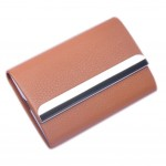 Gift PU Leather Cigarette Holder Fashion Cigarette Storage Box Cigarette Case