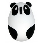 New 2.4 GHz Optical Mouse Lovely Creative Panda Computer Mice WHITE