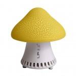 USB Mini Desktop Computer Laptop Speaker Fashion Mushroom Speaker YELLOW