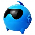 Lovely Fashion Shine Computer Speakers Double Loudspeaker BLUE