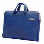 Fashion 14 Inch Laptop Sleeve Simple Professional Protective Sleeve DENIM BLUE