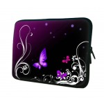 Elegant Butterfly Pattern Laptop/Tablet Computer Bags, Protective Sleeves