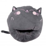 Multi-use Washable Winter Plush Slipper USB charging Heating Foot Warmer For Home and Office #Cat
