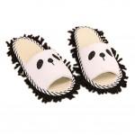 Lovely Animal Microfiber Magic Cleaning Slippers, Panda, Feet Length 26CM