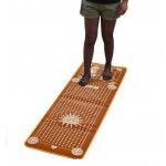 Foot Massager Rug Rocks Massage Cushion 19.5 by 59 Inches