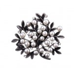 2 Pieces Of Creative Brooch Diamond Tree-Shaped Brooch Clothes Accessories
