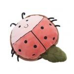 Cute Cartoon USB Heated Mouse Pad With Wristguard Hand Warmer Winter Mousepads, Ladybug