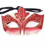 Halloween Mask Masquerade Costume Children Toy Kids Mask Handmade (16x10 cm)