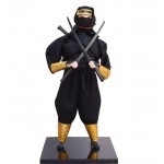 The Japanese Ninja Doll Taking Two Swords Furnishing Articles, Random Style