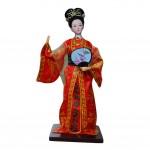Handmade Doll China Art and Craft Silk Figurines Chinese Figures-Jia Yuanchun